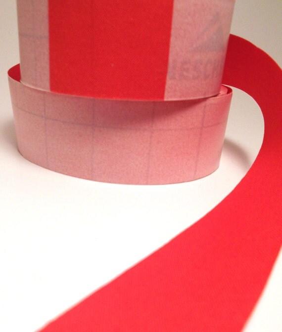 2' Orange Adhesive Fabric Book Cloth Tape Bookbinding