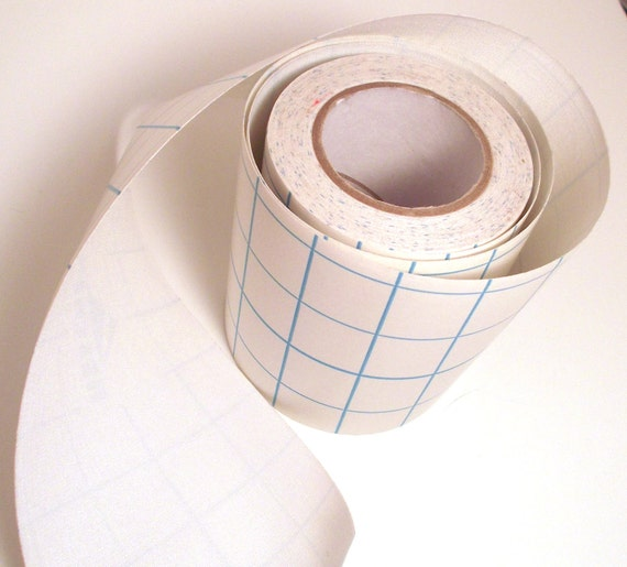 1' White Adhesive Fabric Book Cloth Tape By KeyLimeSupplies