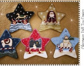 E- PATTERN Christmas pull toys. Designed by Terrye French and painted by me, Beatrice Bacchilega