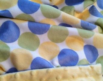 Minky Baby Blanket, Minky Kids Blanket,Boy Minky  Blanket, Girl Minky Blanket,Gender NeutralBlanket, Crib Blanket, Size  36 x 45