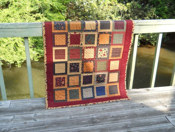 Free Shipping Sandhill Plums Quilt Throw