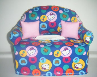 Hello Kitty  Tissue Box Couch Cover