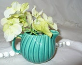 Vintage Green Creamer.....Pottery