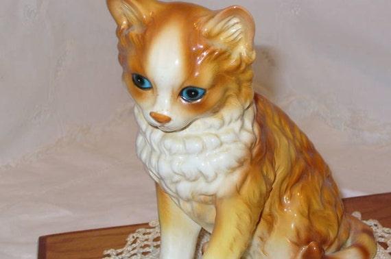 Andrea..by Sedak ..Vintage Tabby Cat Figurine