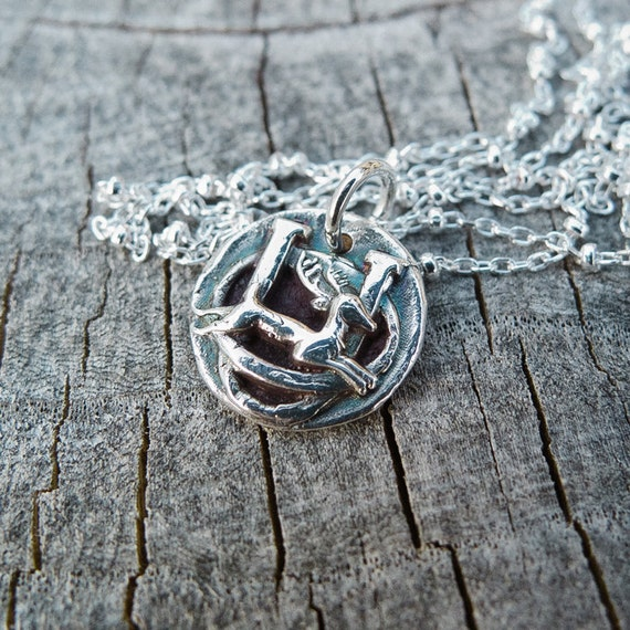 Oh, You Dear Necklace in Fine Silver