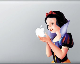 "Snow White macbook decal (11"", 13"", 15"", 17"")"