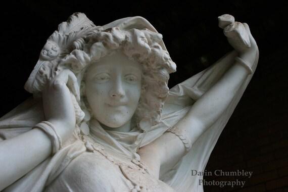 Fine Art Photography - Classic statue, Upstate New York Estate