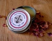1 oz Nipple Balm - Organic - salve, ointment, cream for breastfeeding, sore nipples, herbal