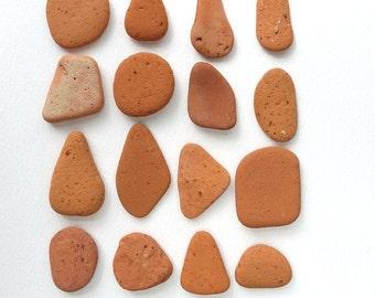 Beach Terracotta | Craft Pottery | Beach Pottery | Orange Pottery | Terracotta Pottery | 103