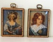 Miniature Celluloid Paintings