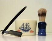 Vintage Old Spice Shaving Mug Set