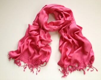 pink pashmina scarf, pink pashmina shawl, pink fashion scarf, pashmina scarf, pashmina shawl, scarf, shawl