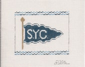 Southern Yacht Club - Needlepoint Ornament Canvas