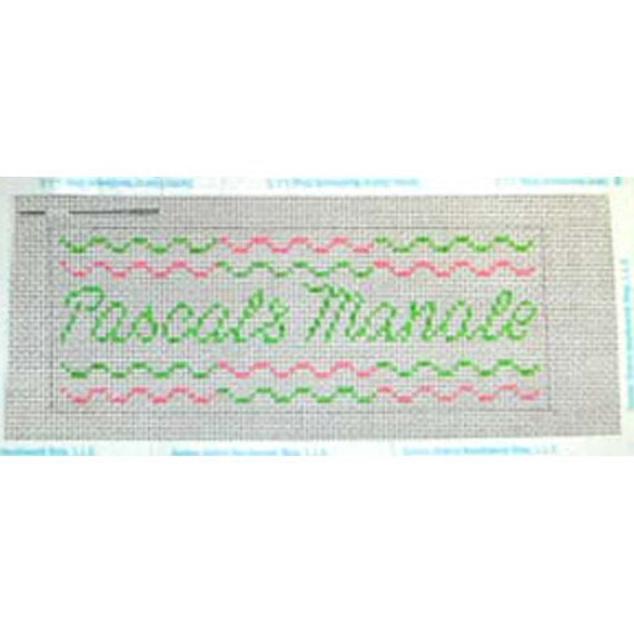 Pascal's Manale Restaurant & Bar - Needlepoint Ornament Canvas