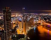 Brisbane City Lights - Limited Edition Print