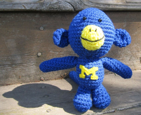 U of M inspired monkey