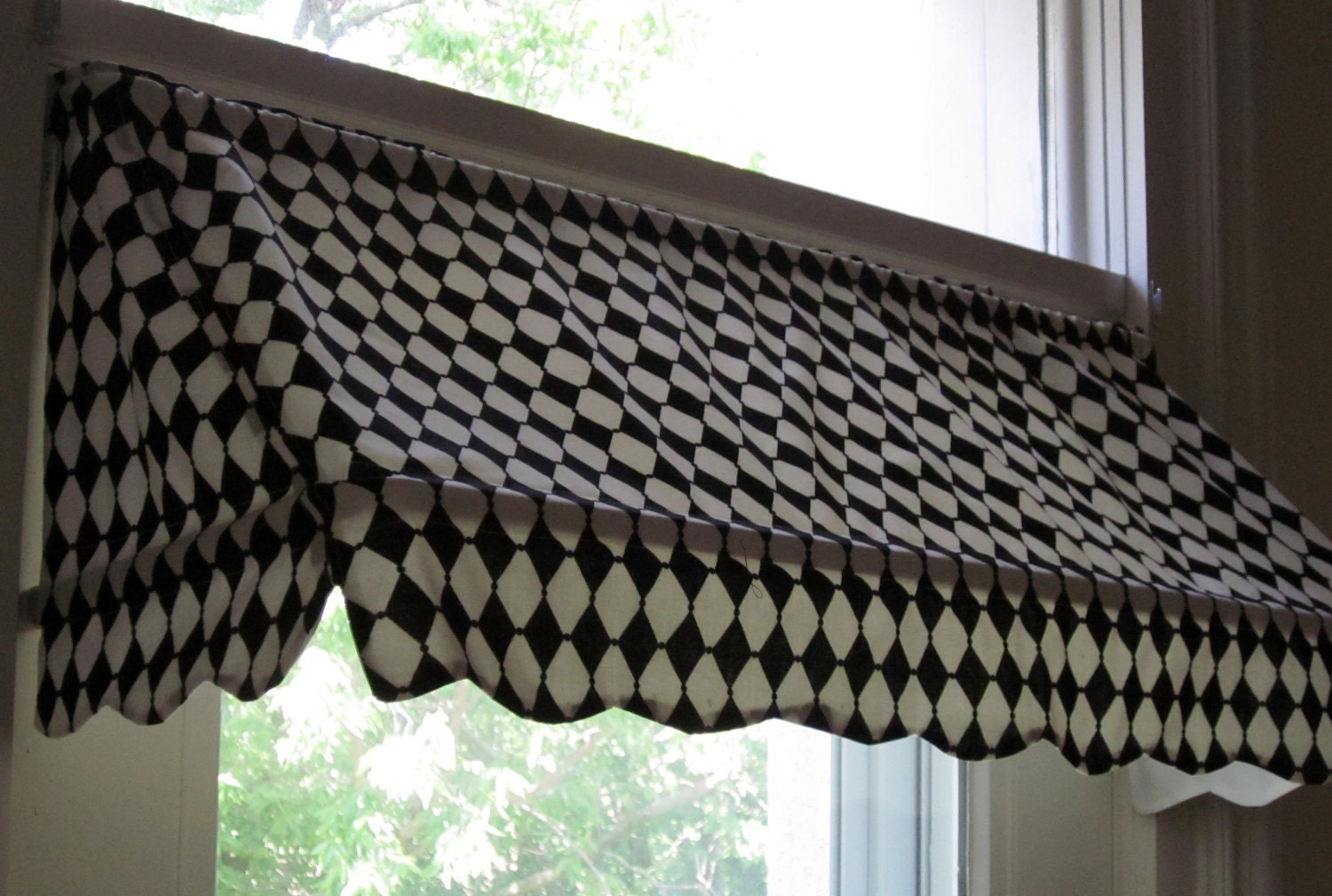 Ready Made Indoor Awning Curtain Fits Windows 26 To 36 By