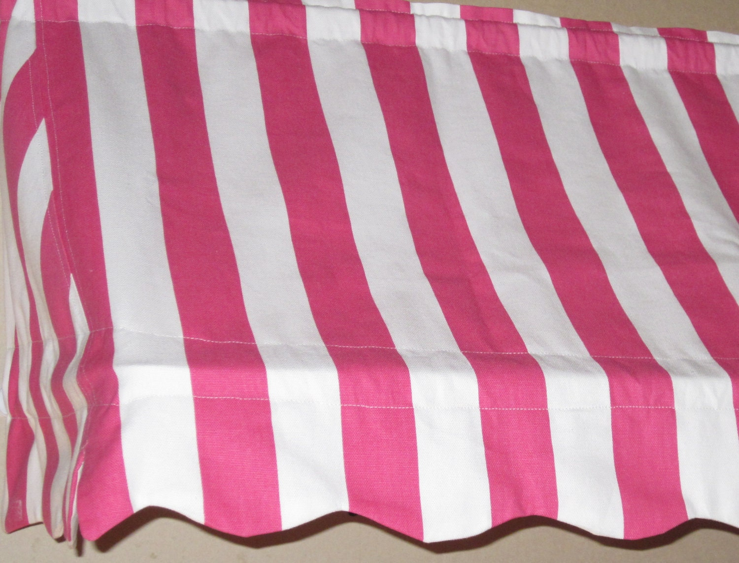 MADE-TO-ORDER Indoor Awning Curtain with Two Matching
