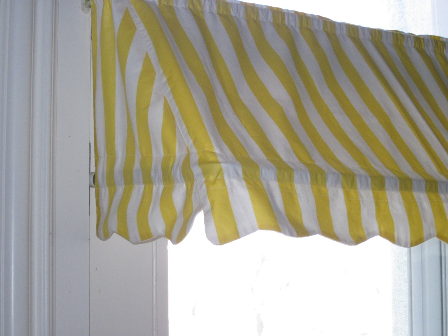 Made To Order Indoor Awning Curtain Custom Fitted For A