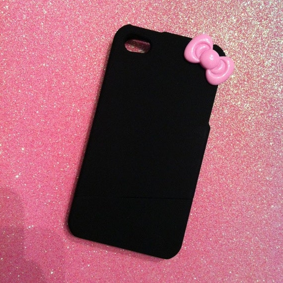 SALE iPhone 4/4s Case with Pink Hello Kitty Bow