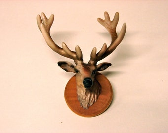 Elk Head Pin
