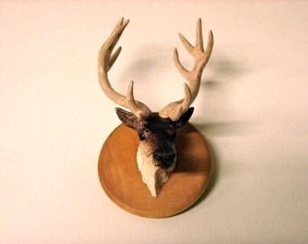 Reindeer Head Pin
