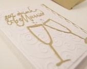 "Wedding Card ""eat drink & be married"""
