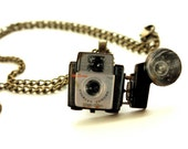 Camera Pendant -Wood Pendant - Photography Lover