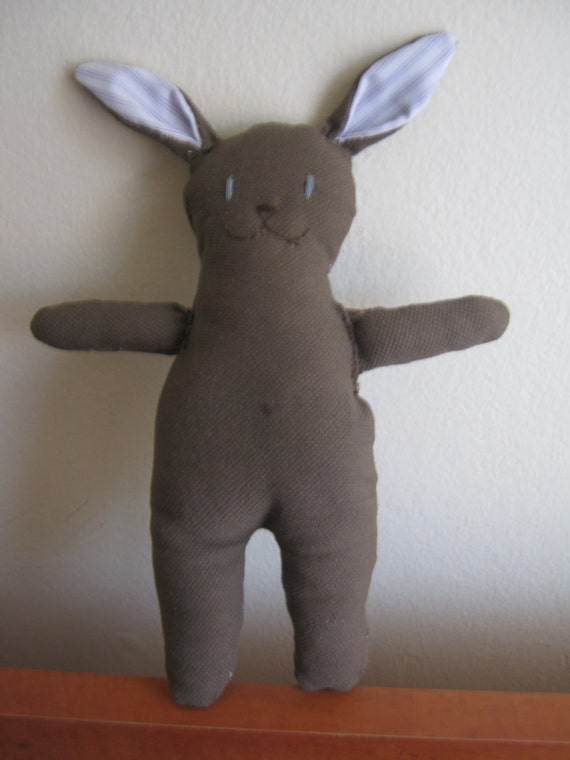 Stuffed Bunny, toy for babies.
