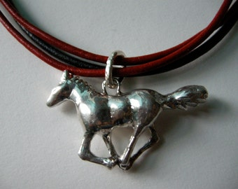 The Race Horse Necklace (Muybridge)