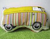 VW style Camper van soft toy