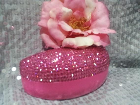 Pink Oversized Sunglass Case