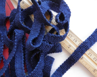5 Yards Dark Blue Trim - OVER 5 Yards & 12 Inches