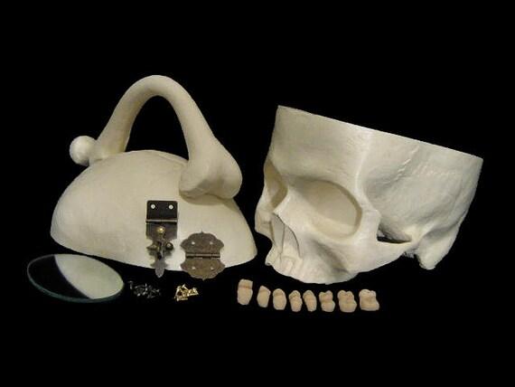 Unique Skull Purse DIY KIt