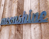 "Wooden ""MOONSHINE"" Sign - Plywood"