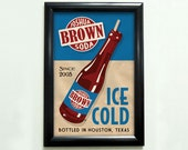Custom Retro Drink Advertisement Poster - 11x17 - Printable Digital File