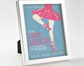 Custom Retro Ballet Poster - 8x10 - Printable Digital File