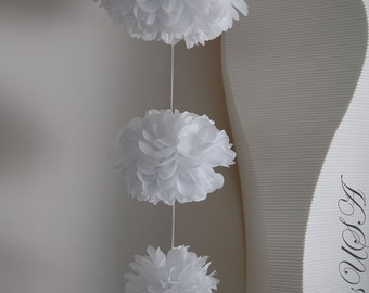 3ft 4 Tissue PomPom Garland