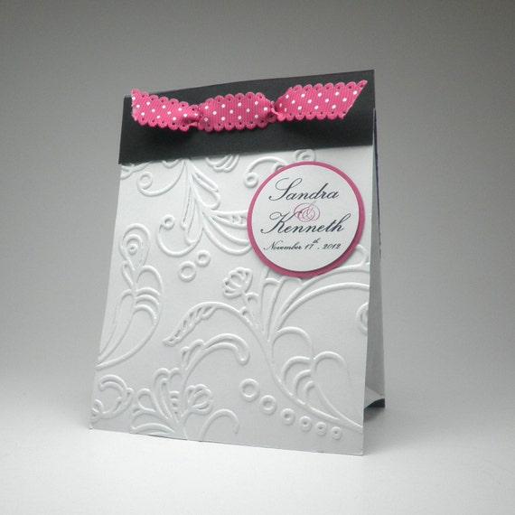 Items Similar To Candy Bar Wedding Reception Favor Bag