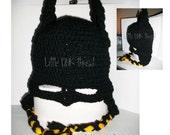 Batmask Hat (CUSTOM)