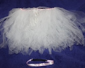 Cream Dream Tutu with Headband