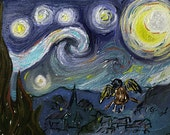 Castiel's Starry Night