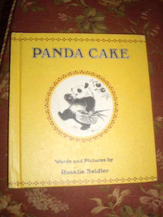 1978 Panda Cake