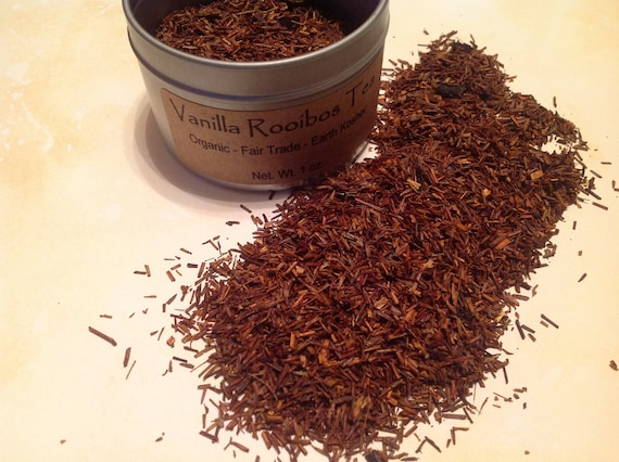Organic Fair Trade Vanilla Rooibos Loose Tea