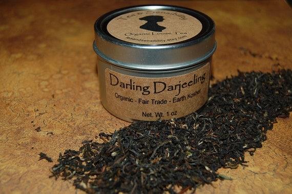 Organic Fair Trade Darjeeling Loose Tea 1oz