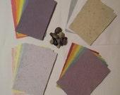 FREE SAMPLES of Handmade Cardstock