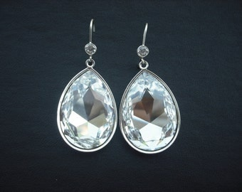 SALE - Isabella Collection, Rhinestone Earrings,  Bridal Earrings, Statement Earrrings, Bridal Jewelry, Weddng Jewelry