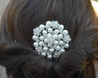 Julia Collection, Rhinestone Hair Comb, Victorian Art Deco Bridal Hair Comb, Vintage Style Hair Accessories, Wedding Hair Comb