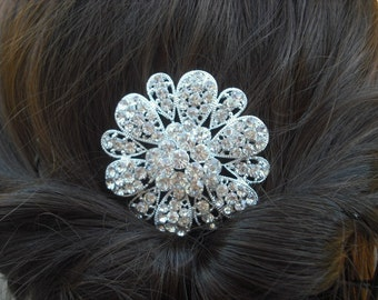 Maya Collection, Rhinestone Hair Comb, Victorian Art Deco Bridal Hair Comb, Vintage Style Hair Accessories, Wedding Hair Comb