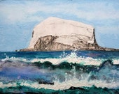 Bass Rock from North Berwick, Scotland
